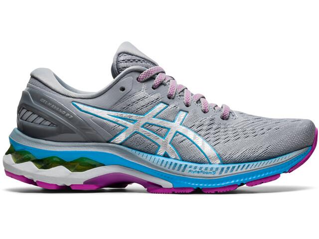 asics Gel-Kayano 27 Shoes Women, digital aqua/pure silver